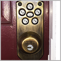 residential locksmith keypad lock Livermore CA